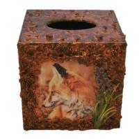 Fox Tissue Box