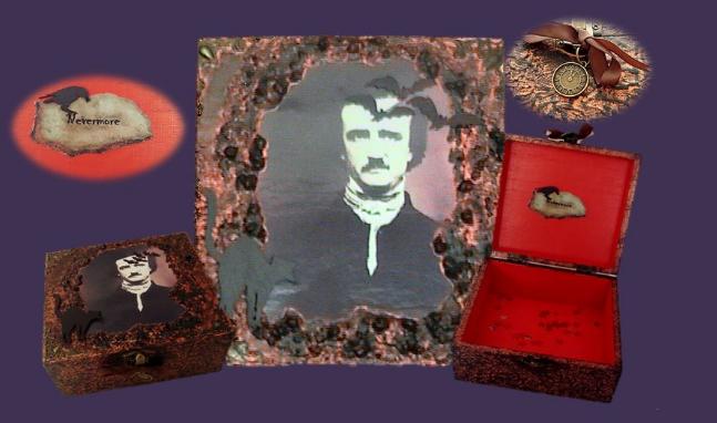 Poe Memory Box sistersofthemoon.org.uk WLB