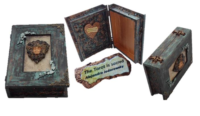 Goddess Tarot Card Box sistersofthemoon.org.uk WB