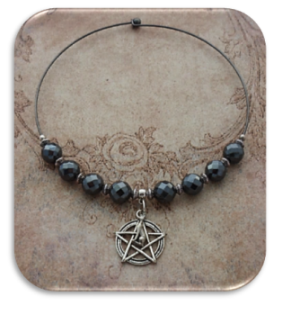 BASTET & PENTAGRAM with HAEMATITE