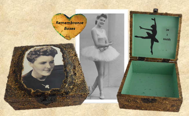 Remembrance Memorial Box sistersofthemoon.org.uk Website