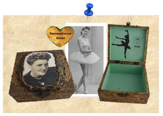 Remembrance Memorial Box sistersofthemoon.org.uk