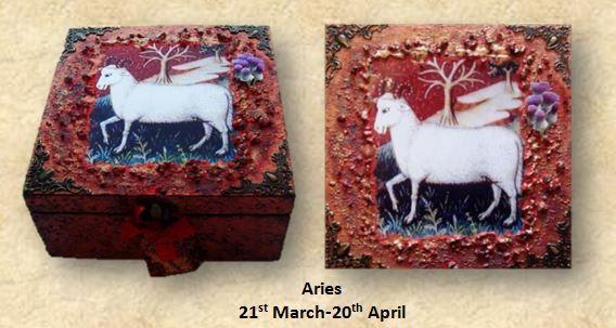 Aries Memory Box sistersofthemoon.org.uk