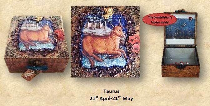 Taurus Memory Box sistersofthemoon.org.uk