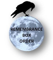 Remembrance Memorial Box Order Button sistersofthemoon.org.uk