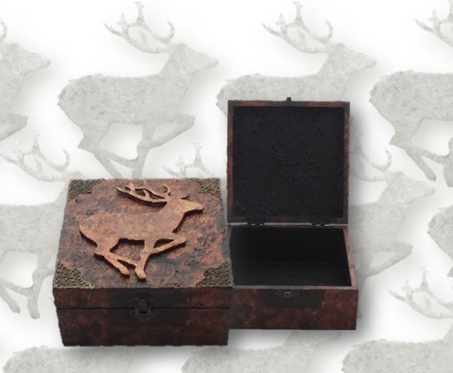 Stag Memory Box sistersofthemoon.org.uk W