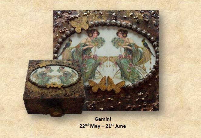 Gemini Memory Box sistersofthemoon.org.uk WWW