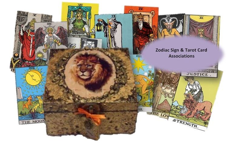 Zodiac and Tarot Associations sistersofthemoon.org.uk