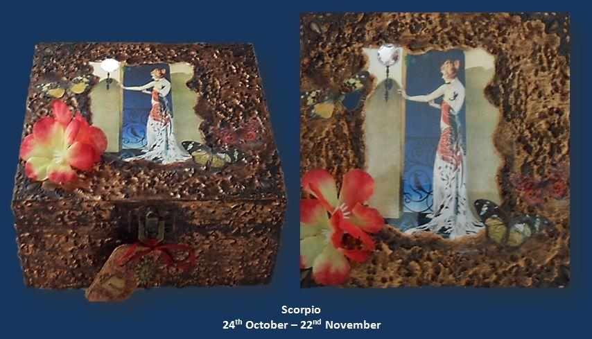 Scorpio Memory Box sistersofthemoon.org.uk W