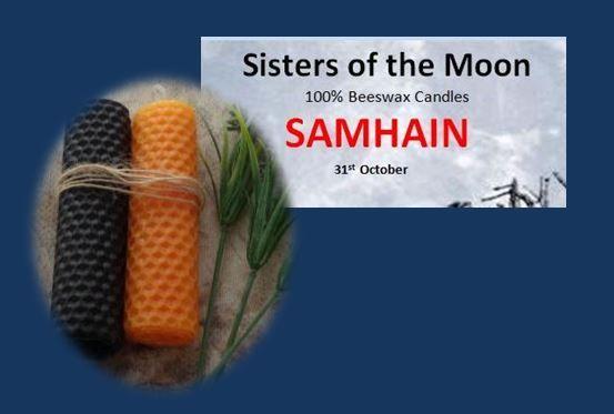 Samhain Sabbat Candles sistersofthemoon.org.uk