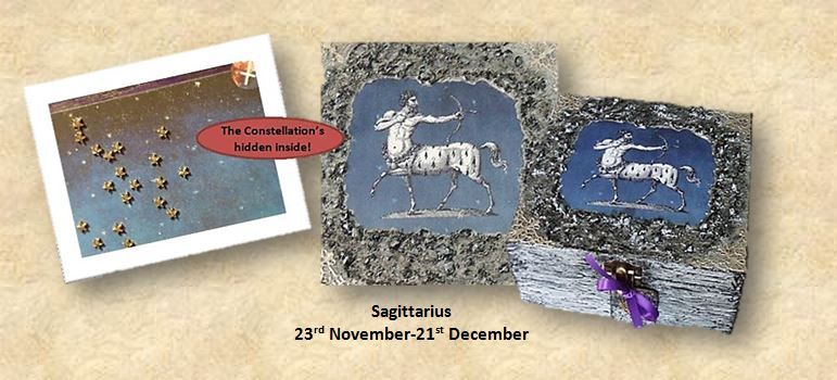 Sagittarius Zodiac Box sistersofthemoon.org.uk