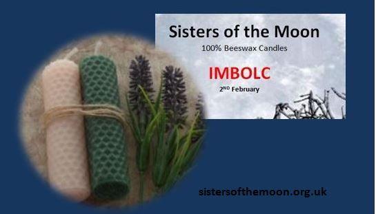 Imbolc Candles sistersofthemoon.org.uk