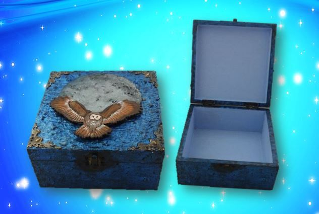 Owl Spirit Animal Box sistersofthemoon.org.uk W