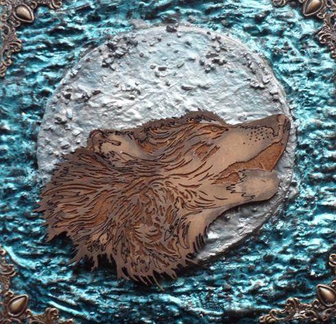 Wolf Spirit Animal Box