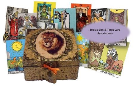 Tarot Cards and Zodiac Signs sistersofthemoon.org.uk