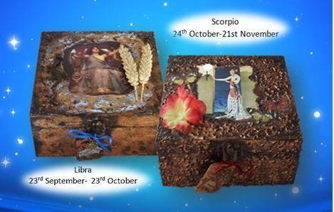 Libra and Scorpio Memory Boxes sistersofthemoon.org.uk