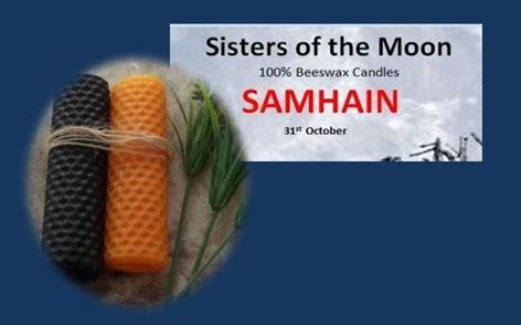 Samhain Altar Candles sistersofthemoon.org.uk