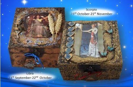 Libra and Scorpio Memory Boxes sistersofthemoon.org.uk W