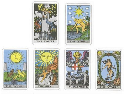 Waite Smith Tarot Images 2 sistersofthemoon.org.uk