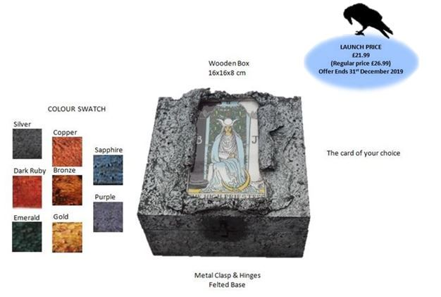 Tarot Card Memory Box Launch Offer sistersofthemoon.org.uk