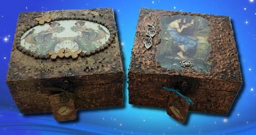 Gemini and Cancer Zodiac Memory Boxes sistersofthemoon.org.uk