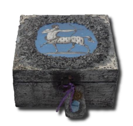 Sagittarius Memory Box sistersofthemoon.org.uk