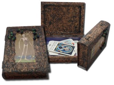 Skeleton Tarot Card Box sistersofthemoon.org.uk W