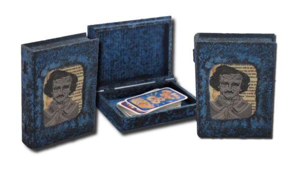 Edgar Allan Poe Tarot Card Box sistersofthemoon.org.uk