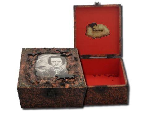 Edgar Allan Poe Memory Box sistersofthemoon.org.uk
