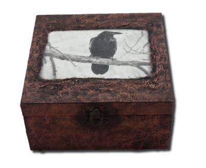 Crow Memory Box sistersofthemoon.org.uk