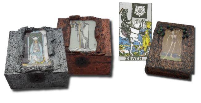 Tarot Card Memory Boxes and Tarot Card Boxes sistersofthemoon.org.uk