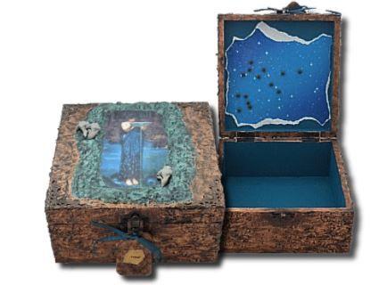 Aquarius Memory Box sistersofthemoon.org.uk Zodiac Gifts