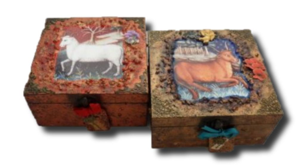 Aries and Taurus Zodiac Memory Boxes sistersofthemoon.org.uk (2)