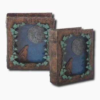 Hare and Moon Tarot Card Box