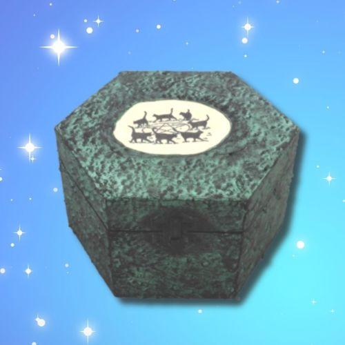 Seven Cats Memory Box