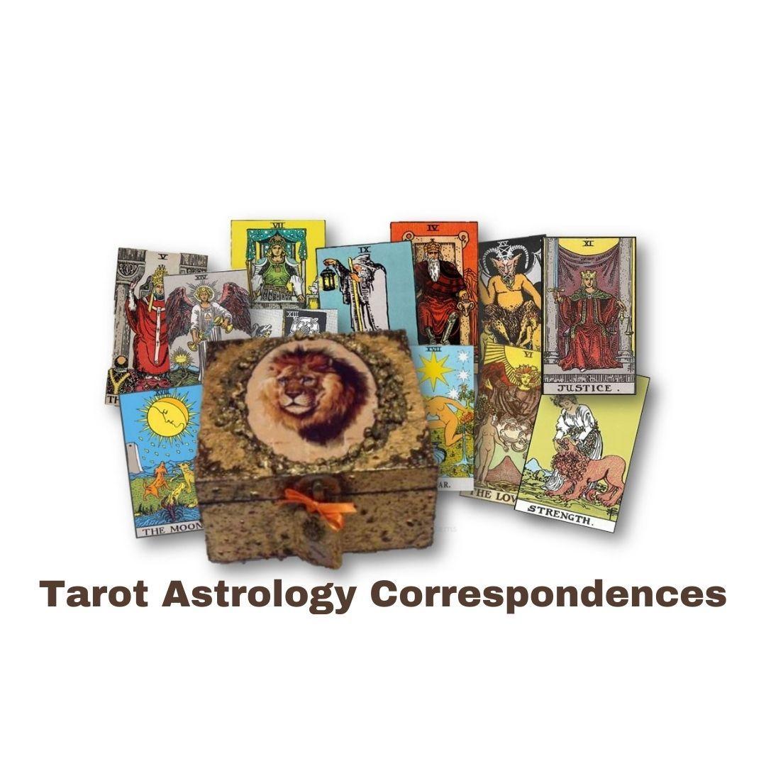 Tarot Card Astrology Correspondences sistersofthemoon.org.uk