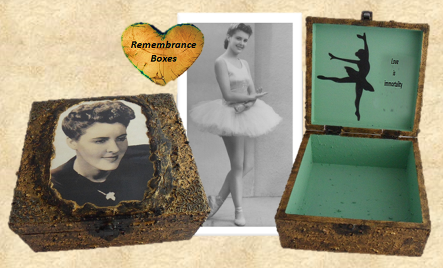 Bereavment Box  Memorial Box sistersofthemoon.org.uk W