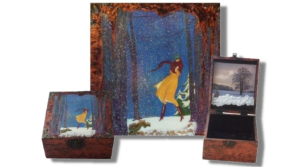 A Walk in the Woods Memory Box (3 views) sistersofthemoon.org.uk