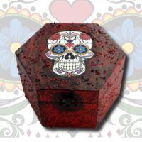 Sugar Skull Memory Box