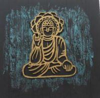 SITTING BUDDHA WALL ART