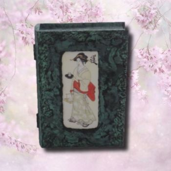 Tea Geisha Card/Keepsake Box