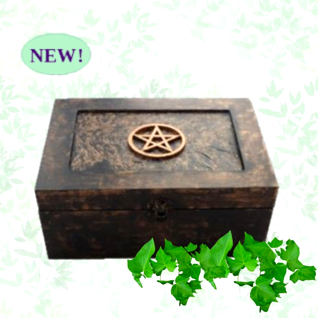 Pentagram Box sistersofthemoon.org.uk