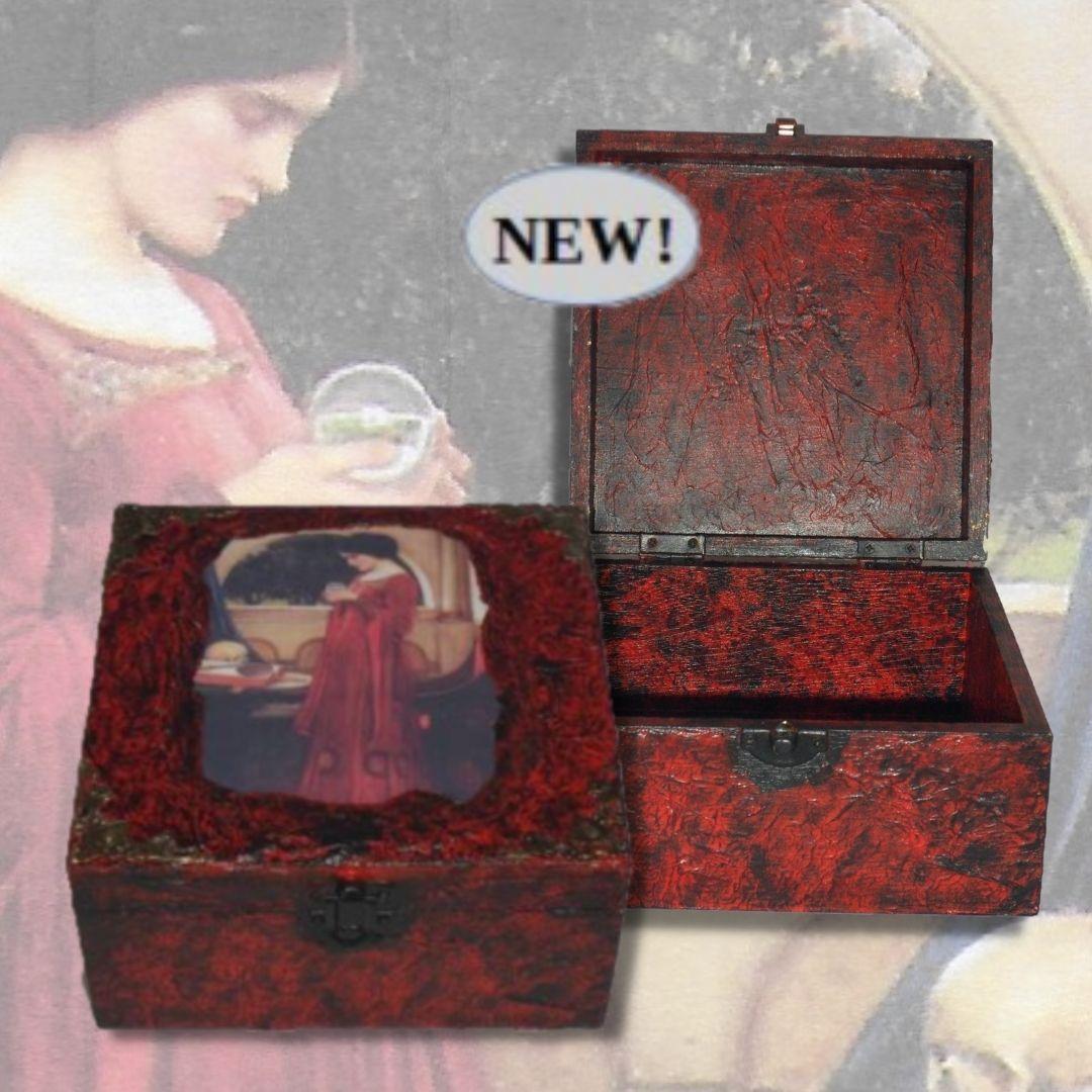 PreRaphaelite Memory Box sistersofthemoon.org.uk