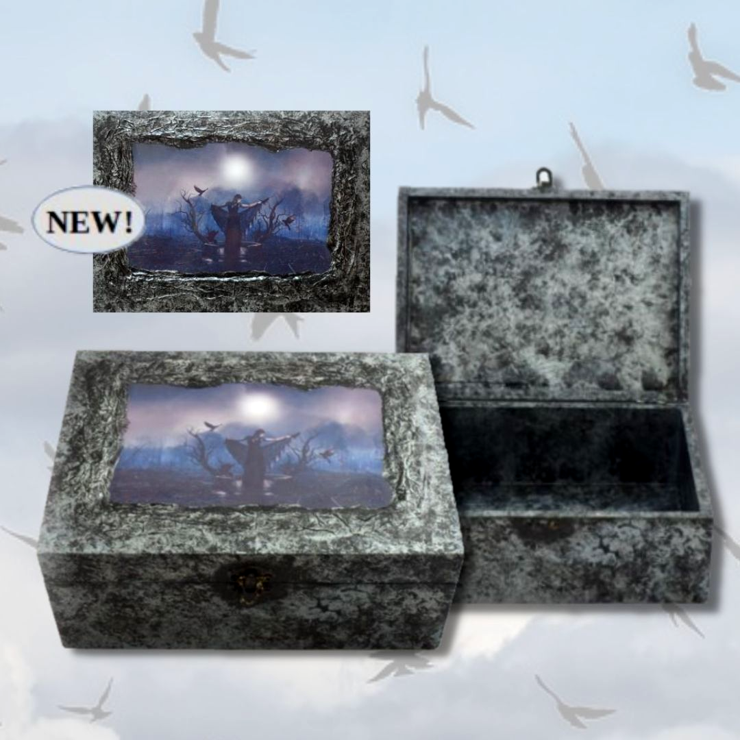 Crow Magick Memory Box sistersofthemoon.org.uk