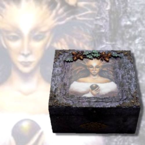Forest Witch Memory Box