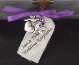 Charm for Wedding Keepsake Box (Photo Frame)