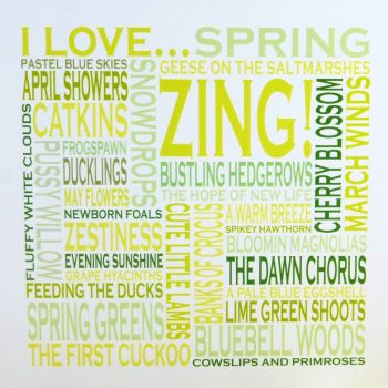 Witty Words| I Love Spring