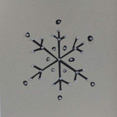 Christmas| Simple Crystal Snowflake