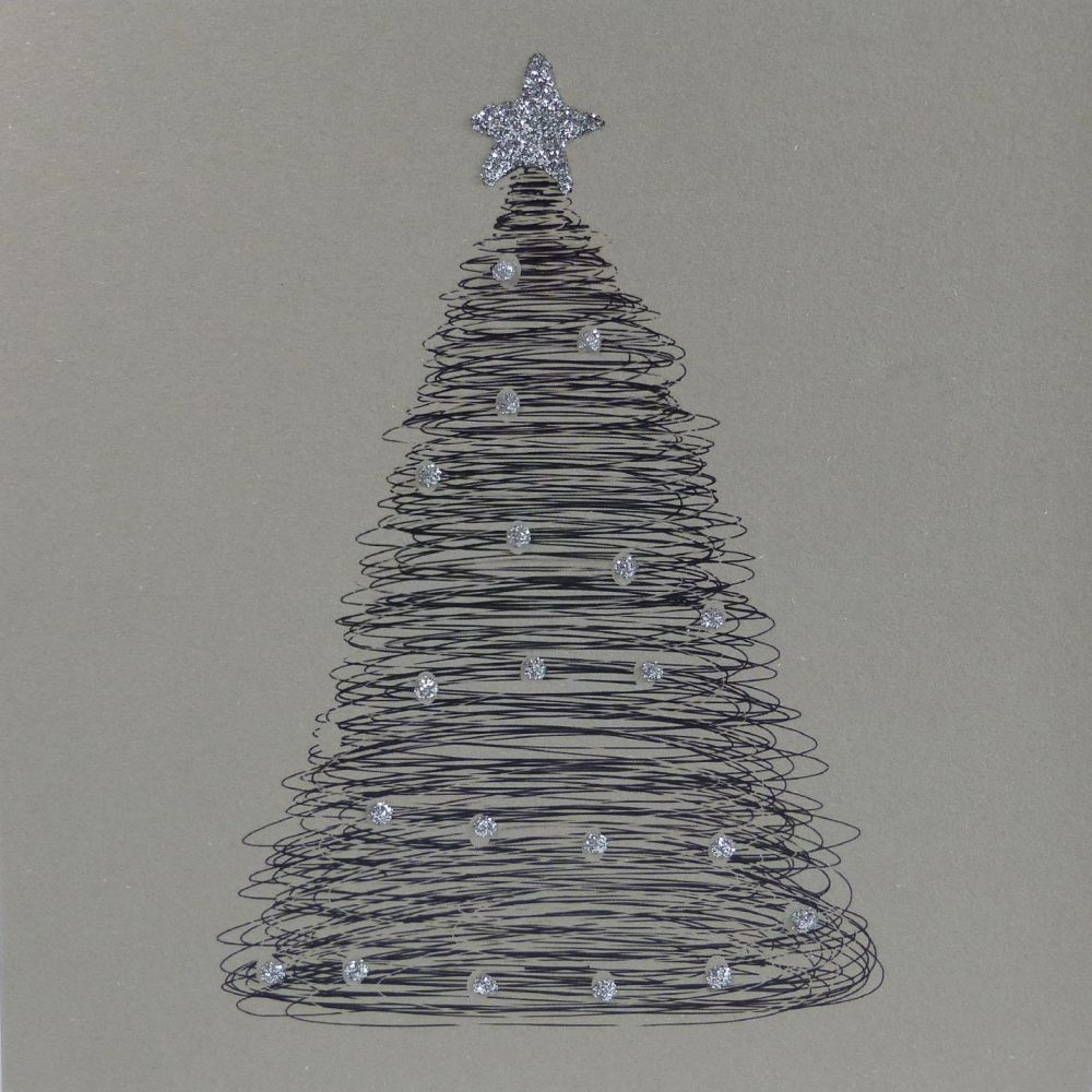 Christmas| Christmas Scribble Tree