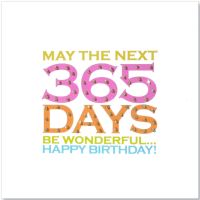 Birthday | 365 Days Glitter Dots - 68W